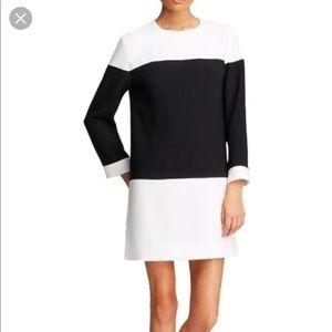 Kate Spade Black and White Shift Dress
